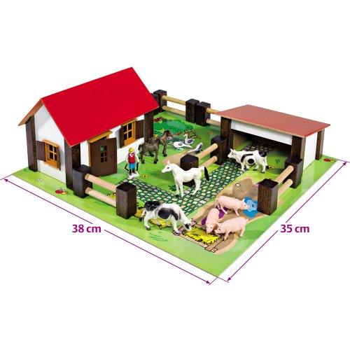 Eichhorn Kleiner Bauernhof mit Zubehör