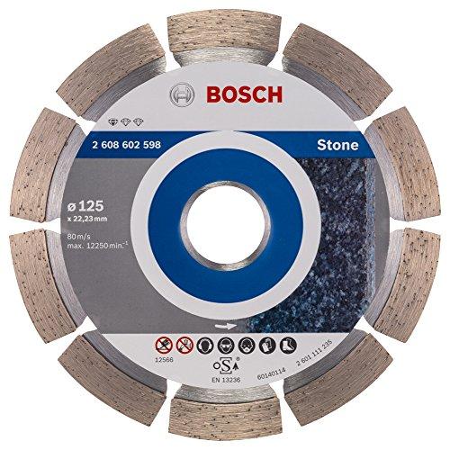 bosch pro diamanttrennscheibe standard for stone zum schneiden von granit und naturstein 125 mm. Black Bedroom Furniture Sets. Home Design Ideas