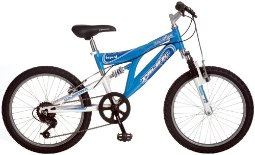 Pacific Gray's Peak Girl's 20-Inch's Dual-Suspension Mountain Bike
