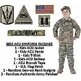 Kids Standard Military Uniform Package - ACU Digital - Medium (12)