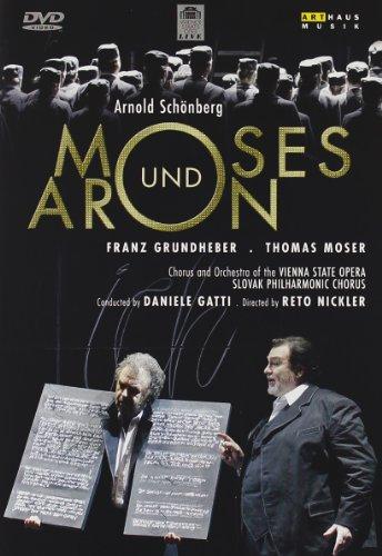 Moises Y Aaron ( Gatti) - Arnold Schönberg - DVD