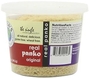 Aleias Gluten Free Panko Crumbs, Original 2pk 12 Ounce Each