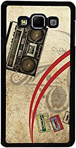 PrintVisa Case Cover for Samsung Galaxy A7 (D7890 Music Player)