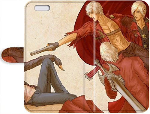 Hot Christmas Gifts For Leather Phone Leather Case Cover Devil May Cry iPhone 6/iPhone 6s (Devil May Cry Iphone 6 Case compare prices)