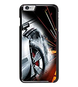 PrintDhaba Alloy Wheel D-4513 Back Case Cover for APPLE IPHONE 6 (Multi-Coloured)