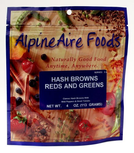 Alpineaire Foods Hash Browns Reds And Greens