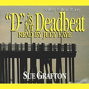D Is for Deadbeat Hörbuch