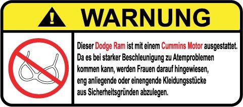 dodge-ram-cummins-motor-german-lustig-warnung-aufkleber-decal-sticker