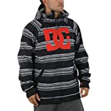 DC Mens Spectrum Softshell 10k Snow Jacket 2012 - Black Stripe - Large