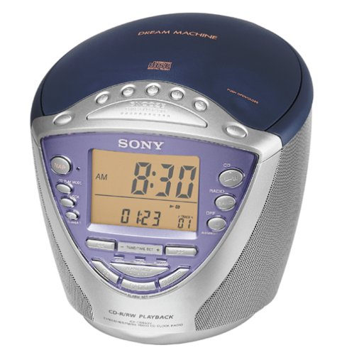 Sony ICF-CD853V AM/FM/TV/Weather Clock Radio/CD Player (Discontinued by Manufacturer)