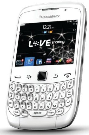 Blackberry Curve 3G White Limited Edition 