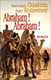 Abraham! Abraham! (French Edition) (2268031144) by Ouaknin, Marc-Alain