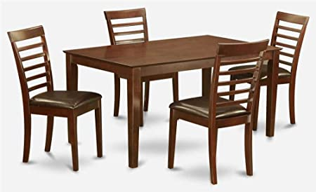 5-Pc Traditional Rectangular Dining Set