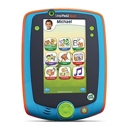 LeapFrog LeapPad Glo Kids Learning Tablet, Teal (Leapfrog For 3 Year Olds compare prices)