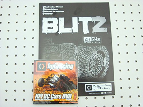 HPI RACING BLITZ OWNERS MANUAL VERSION 6 DVD VOLUME 2