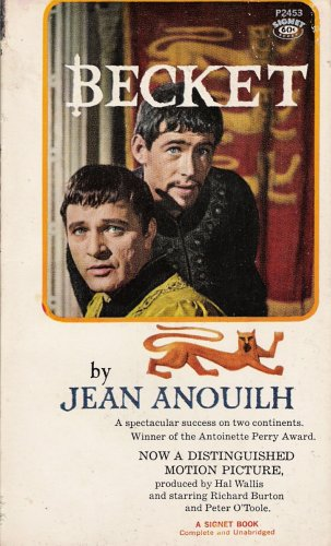 Becket: Or the Honor of God, Anouilh,Jean