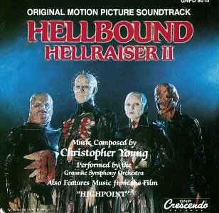 Original album cover of Hellbound: Hellraiser II - Original Motion Picture Soundtrack, Also Features Music From The Film by Original Motion Picture Soundtrack