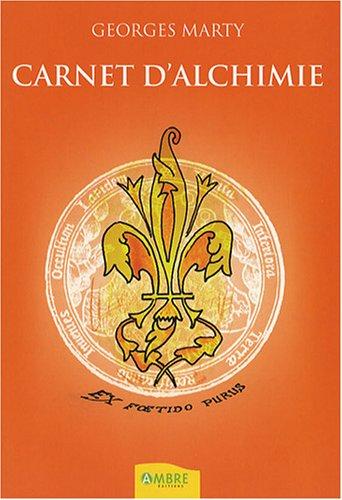 Carnet d'alchimie