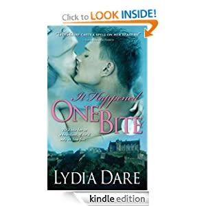 Kindle Daily Deal: It Happened One Bite (Gentleman Vampires), by Lydia Dare. Publisher: Sourcebooks Casablanca (March 1, 2011)