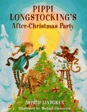 Pippi's After-Christmas Party, Astrid Lindgren