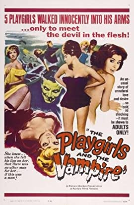 Playgirls And The Vampire Movie Poster 11x17 Heavy Stock Print
