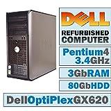 Lot of 3 Dell OptiPlex GX 620