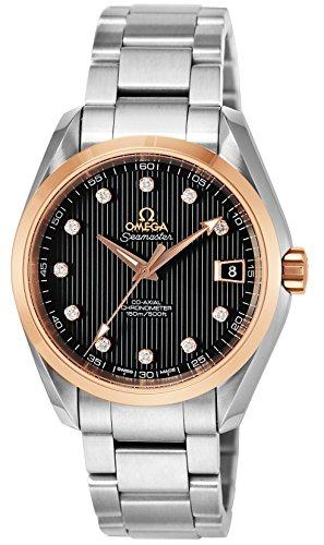 [オメガ]OMEGA 腕時計 シーマスターアクアテラ ブラック文字盤 コーアクシャル自動巻 231.20.39.21.51.003 メンズ 【並行輸入品】