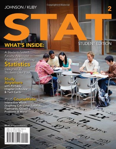 STAT 2 (with Review Cards and CourseMate Printed Access...