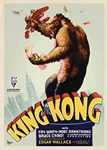King Kong Poster Movie D 27x40 Fay Wray Bruce Cabot Robert Armstrong