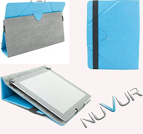 "Flip Stand 2 In 1 Cover Case Apple I Pad Air ""Baby Blue"" Nu Vur ""Mu10 Egb1"""