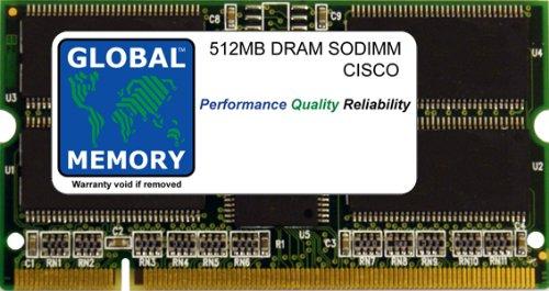 512Mo DRAM SODIMM MÉMOIRE RAM POUR CISCO 7600 SÉRIE ROUTEURS SUPERVISEUR MOTEUR & ROUTE INTERRUPTEUR PROCESSEUR (MEM-SIP-200-512M)