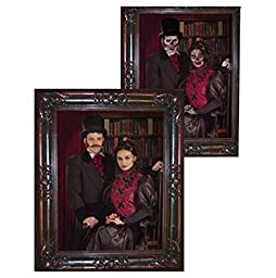 Forum Novelties Haunted Lenticular Couple Moving Picture Frame, 12 x 13\