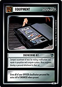 Star Trek Ccg 1e Voyager Engineering Kit 34s