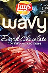 Frito Lay Dark Chocolate Covered Potato Chips (Limited Edition, Pack of 3)