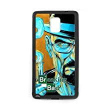 buy Personalized Note 4 Hard Tpu Rubber Phone Case Compatible For Samsung Galaxy Note 4 Iv - Breaking Bad (Design A734)