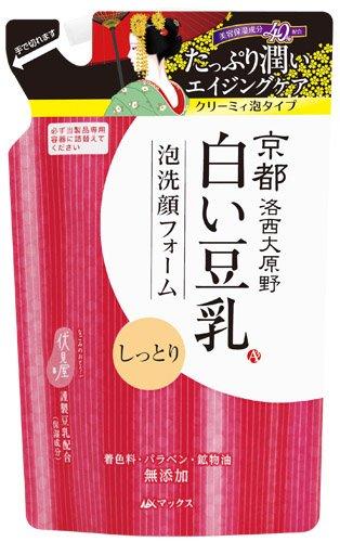 マックス 白い豆乳泡洗顔フォーム詰替 150ml