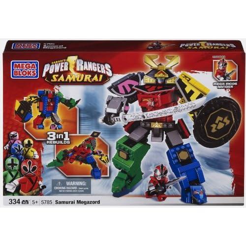 MEGA Bloks 5785   Power Rangers Samurai   Mega Zord