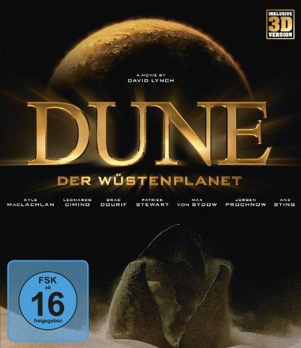 Dune - Der Wüstenplanet (inklusive 3D-Version) [Blu-ray]