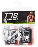 Invincible Stretch Mexican Style Nylon Hand Wraps, 2.5 Metres (Red/White/Black )