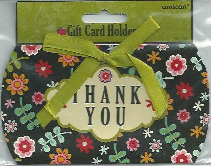 Amscan Gift Card Holder Thank You