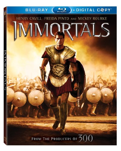 Cover art for  Immortals [Blu-ray]