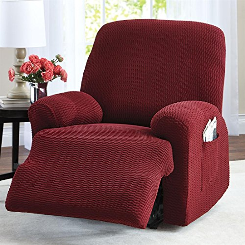 Brylanehome Raise The Bar Recliner Slipcover back-585944