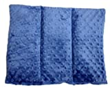 Flaxseed Pillow - Comfy Back (Midnight Blue)