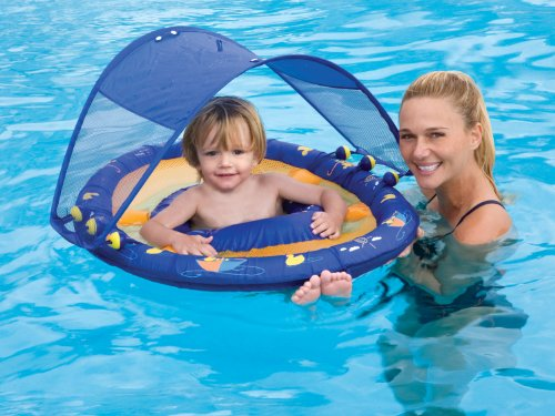 Baby Spring Float Sun Canopy by Swimways  sc 1 st  The Baby Stores & The Baby Stores: Baby Spring Float Sun Canopy by Swimways