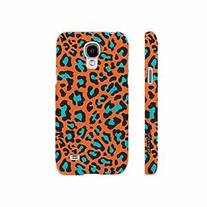 Samsung Galaxy S4 mini Cheetah Print designer mobile hard shell case by Enthopia