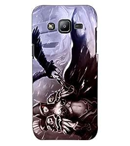 ColourCraft Devil Girl Design Back Case Cover for SAMSUNG GALAXY J2 DUOS