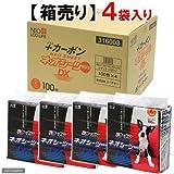 ネオシーツカーボンDXレギュラー100枚 × 4袋 (ケース販売)