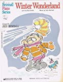 img - for Winter Wonderland (Brimhall Piano Series, T31021b) book / textbook / text book