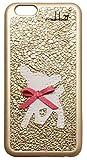 mabba ( マッバ ) ドイツ の 羊毛 バンビ 刺繍 革 iphone6ケース 本革 iPhone 6 Case Bambi gold ケース レザー アイフォン ゴールデン カバー iPhone6 apple6 モバイルケース 保護シート ゲット 海外 ブランド