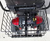 LARGE REAR BASKET FOR PRIDE MOBILITY SCOOTER WITH HOLDING PIN